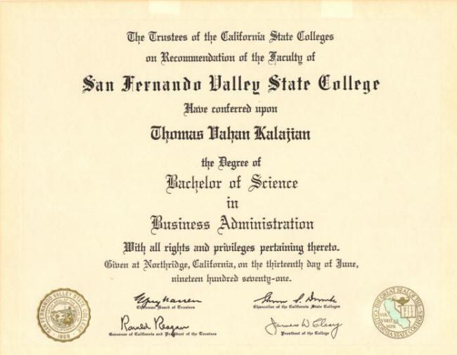 Accounting Degree Bachelor